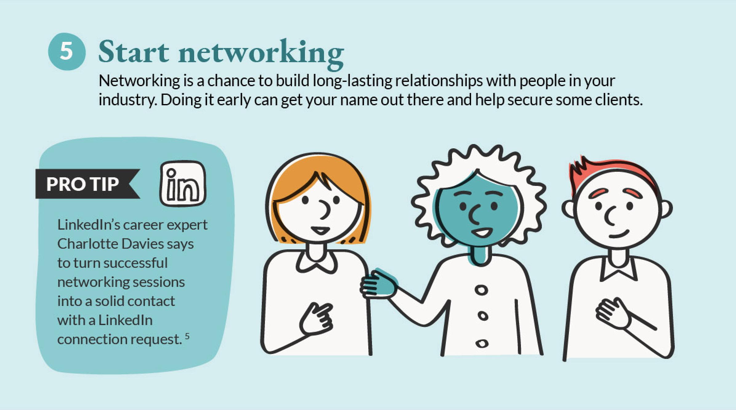 start networking