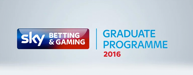 Sky Betting and Gaming invests graduate talent