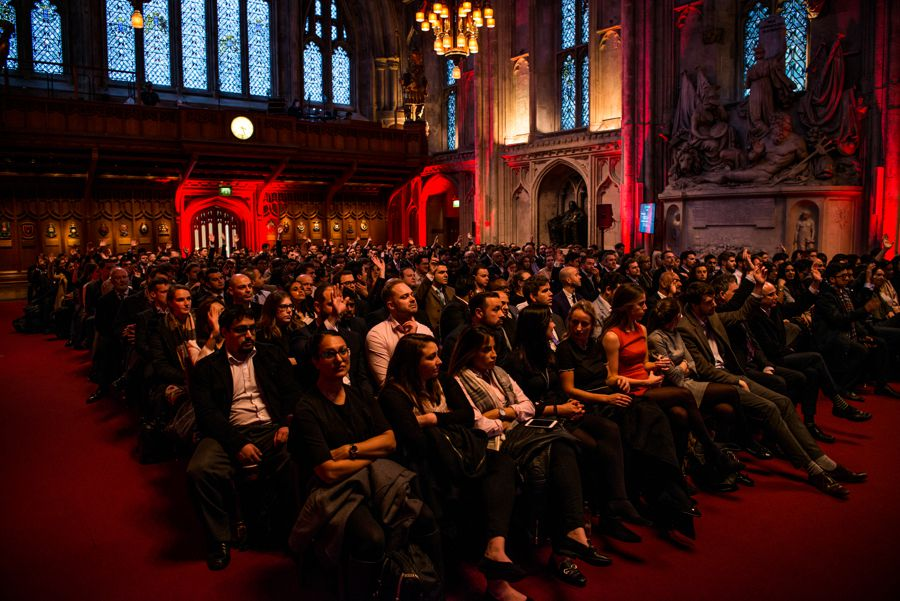 Audience at a GlobalData event
